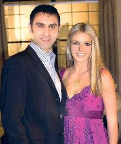 Sandip with Britney Spears