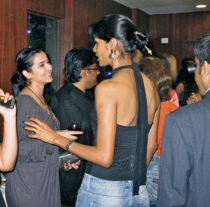 Simone Singh and Nethra Raghuraman