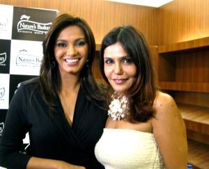 Diana Hayden and Nisha JhamVwal