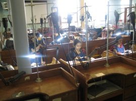 Jewellery Manufacturing at The Indian Institute of Jewellery